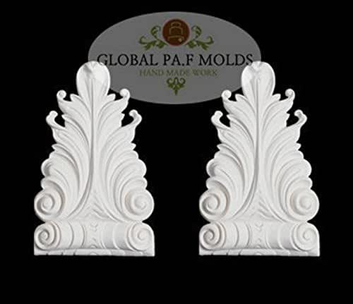 Sugarcraft Molds Polymer Clay Cake Border Mold Soap Molds Resin Candy Chocolate Cake Decorating Tools 1 Piece Vintage Trims MOLD 08