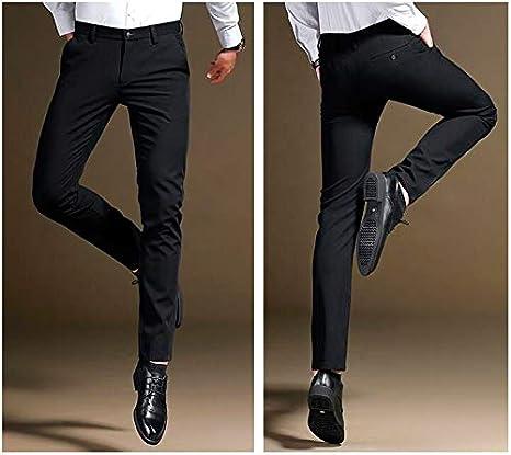 Botong Mens Slim Fit Dress Pants Wrinkle-Free Stretch Casual Pants Comfort Suit Pant Dress Trousers