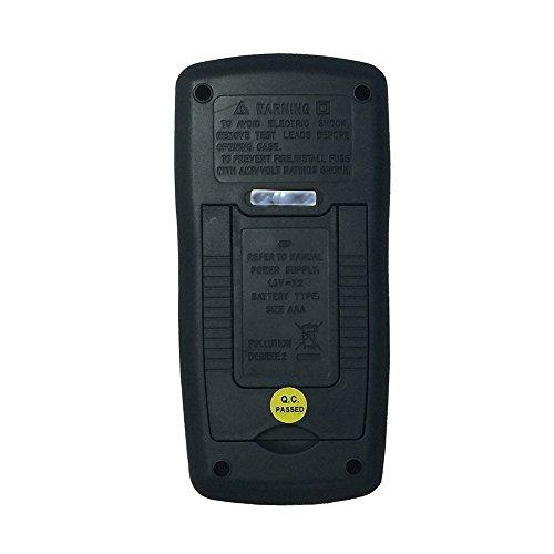 OLSUS DT321C LCD Handheld Digital Multimeter, Using for Home and Car - Black + Yellow by OLSUS (Image #3)