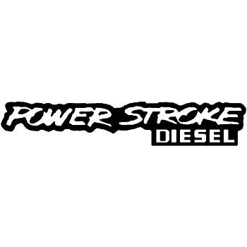 Nobody Cares Diesel Truck Decal Sticker Laptop 6.0 7.3 Set of 2