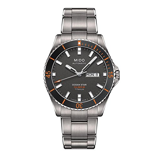 Mido Ocean Star Captain V M026.430.44.061.00 Grey / Silver Titanium Analog Automatic Men's Watch