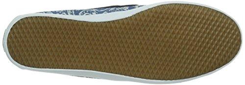 Navy Basses W navy Femme Chauffette white white Sneakers Vans Bleu BqEAwXwx