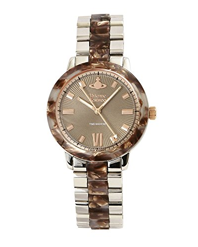 Vivienne Westwood watch MARBLE ARCH WATCH Brown Dial Stainless Steel Quartz VV165BRSL Ladies