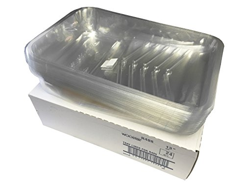 Deep Well Tray - Wooster Brush R408-13 Hefty Deep Well Tray Liner, Pack of 24