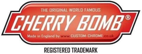 Cherry Bomb TBCORSABLK Bo/îtier d/'/échappement arri/ère Noir