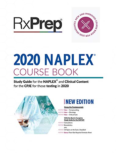 RxPrep's 2020 Course Book for Pharmacist Licensure Exam Preparation