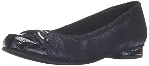Rose Petals by Walking Cradles Women's Mulberry Flat Navy