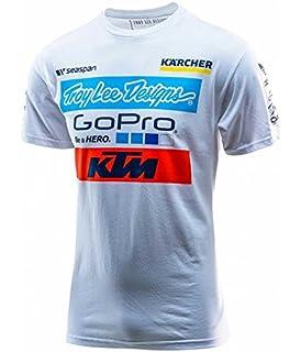 Troy Lee Designs Mens KTM Team Licensed Short-Sleeve Shirt