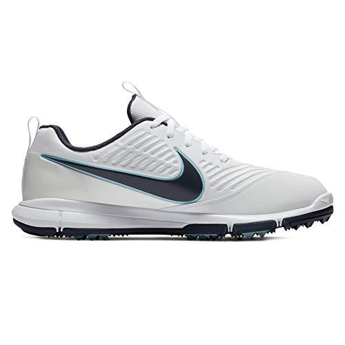 ace443efb4551 Nike Explorer 2 Spikeless Golf Shoes 2017 White/Thunder Blue/Ocean Bliss  Medium 10
