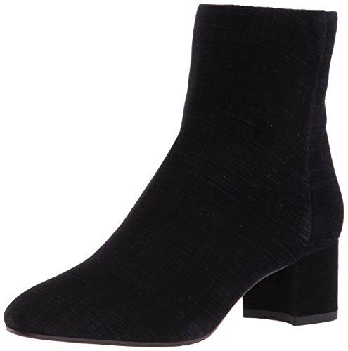 Aquatalia Women's Joselyn DEVOURE Ankle Boot Black/Navy 6.5 M M US