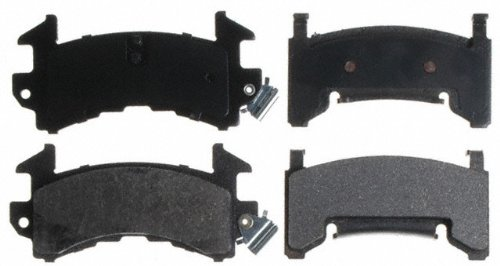 Raybestos SGD154M Service Grade Semi-Metallic Disc Brake Pad Set