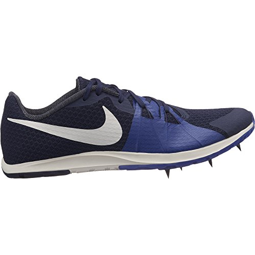 NIKE Women's Zoom Rival XC Spike Blackened Blue/Phantom/Deep Royal Blue Size 7.5 M (Arch Rival Shoes)