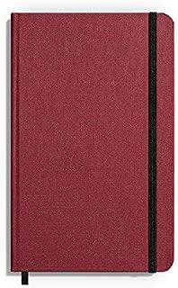 product image for Shinola Journal, HardLinen, Ruled, Rich Bordeaux (5.25x8.25)