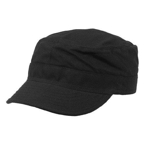 MFH BDU Ripstop Field Cap Black size XL ()