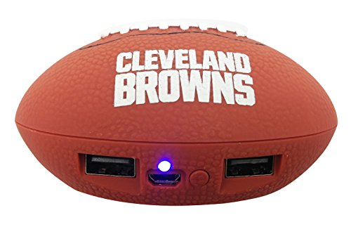 UPI Marketing, Inc. NFL Cleveland Browns Phone Charger, One Size, Brown ()