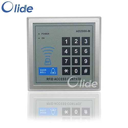 Door Access Control Keypad RFID ID Cards Proximity Reader with Password by Olide