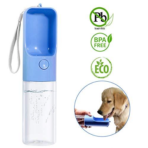 TRUE LOVE Dog Water Bottle for Walking,