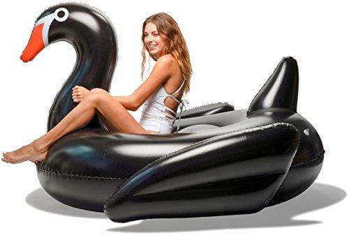 Floatie Kings Black Swan Party Pool Float -