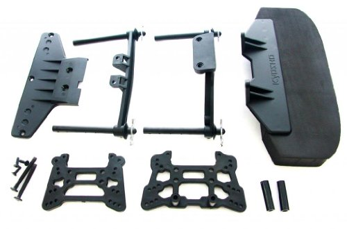 Kyosho Front Bumper (Kyosho Inferno GT2 VE BL FRONT BUMPER & SHOCK TOWERS & BODY POSTS clips rear)