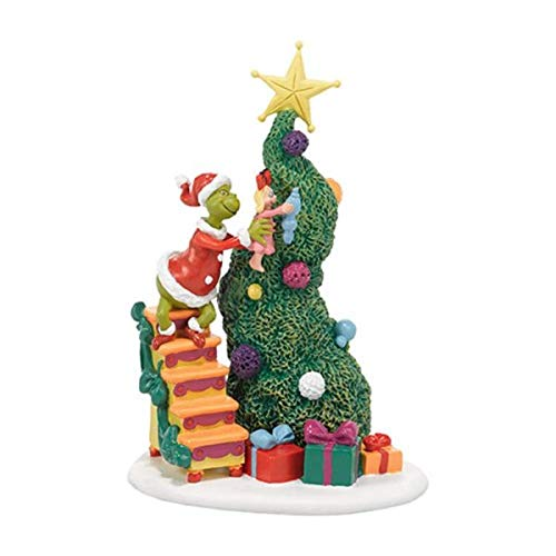 Department 56 Dr. Seuss The Grinch It Takes Two, Grinch & Cindy-Lou Christmas Figurine #4038647
