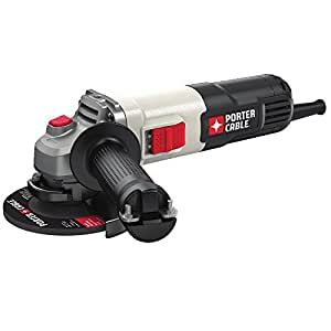 """PORTER-CABLE PCE810 6.0 Amp 4-1/2"""" Small Angle Grinder,"""