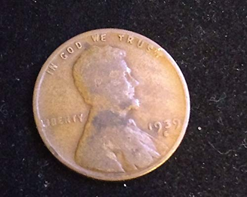 Wheat Cent Us Coins - 1939 S U.S. Lincoln Wheat Cent VG to FINE+ American Mint U.S.A.