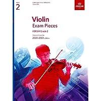 Violin Exam Pieces 2020-2023, ABRSM Grade 2, Score