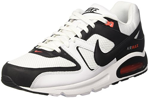 Nike Herren Air Max Command Sneaker Weiß (White/Black-max Orange)