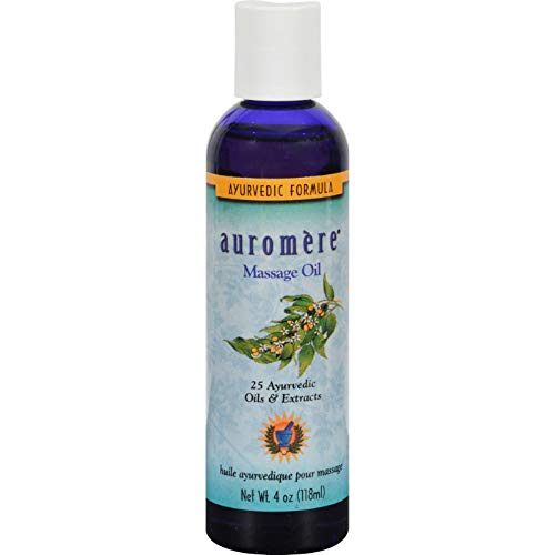 Auromere Ayurvedic Massage Oil, 4 Fluid Ounce