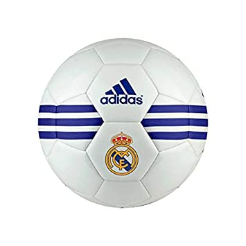 adidas Real Madrid, Balón, White-Super Purple, Talla 5: Amazon.es ...