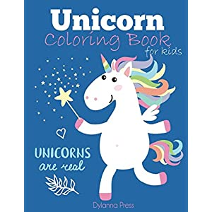 Unicorn Coloring Book for Kids: Magical Unicorn Coloring Book for Girls, Boys, and Anyone Who Loves Unicorns (Unicorns…