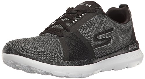 Shoe Walking Train White Skechers Go 14825 Women's Flex Black vYHqwzU