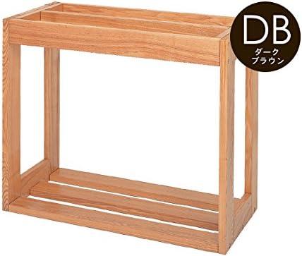 マーフィード ウッドラックrefine 600×450 2段(ダークブラウン)