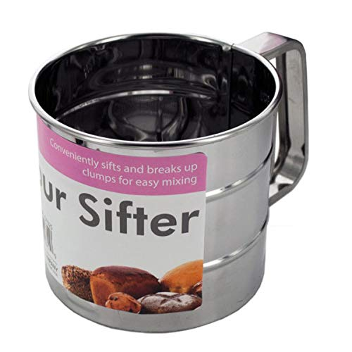 Metal Flour Sifter - 6/Pack (8 Pack) by handy helpers (Image #1)