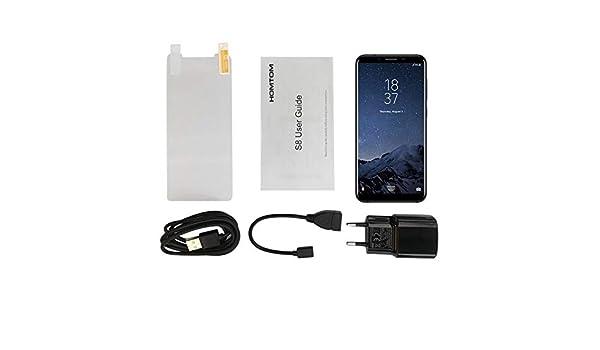 HOMTOM S8 5.7 Pulgadas HD Pantalla Smartphone 4G RAM 64G ROM Cámara Trasera Trasera con Huella Dactilar Teléfono 4G para Android 7.0: Amazon.es: Electrónica