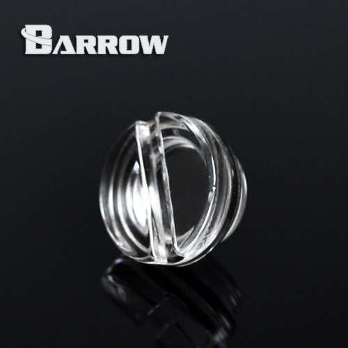(2Pcs Water Stopper Plug For Water Cooling Reservoir Acrylic G1/4 Thread Barrow)