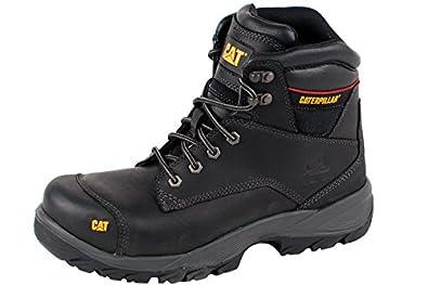 Caterpillar Spiro S3, Chaussures de Sécurité Homme - Marron (Dark Brown), 43 EU