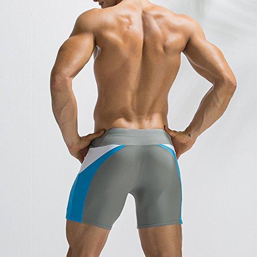 Traje Surf Gris Cortos moichien Ai Downstrings Sexy Boxer Men de ba Beach Boy o Pantalones 6qHwpx0H8