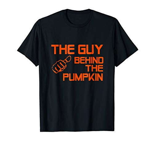 This guy behind the pumpkin T-shirt Funny Hallowen 2018 -
