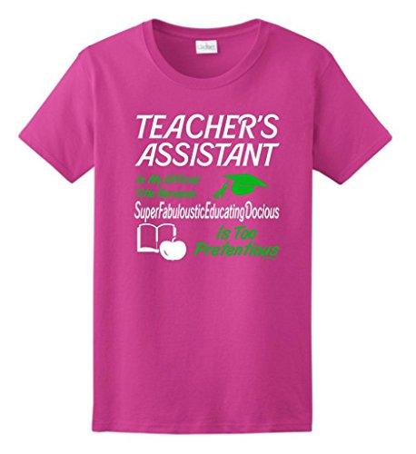 Teachers Assistant Official Ladies T Shirt