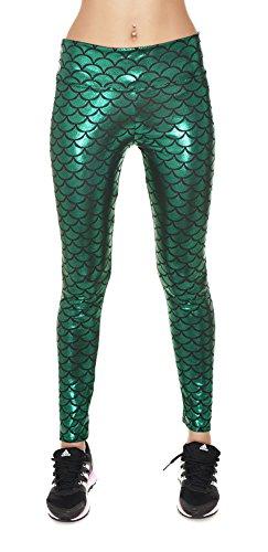 Jescakoo Womens Length Mermaid Leggings product image