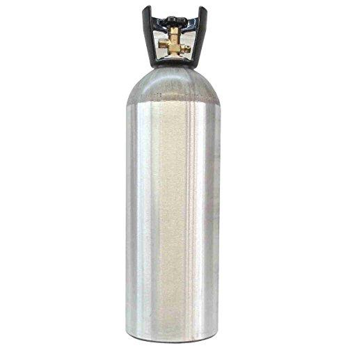 Titan Controls Carbon Dioxide (CO2) Aluminum Tank, 20 lb by Titan Controls