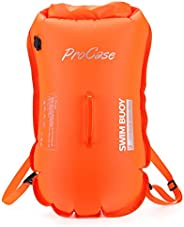 ProCase Swim Buoy Backpack, 35L Swimming Bubble Safety Float Waterproof Dry Backpack with Detachable Shoulder
