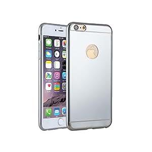 FBA-KrygerShield® Apple iPhone 6s Plus 6 Plus Gel Case - Electroplated Silver