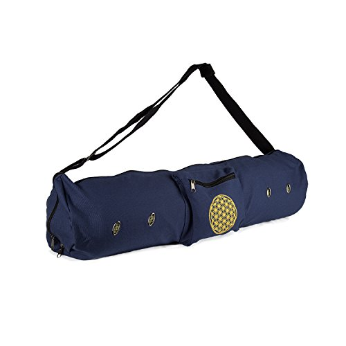 Peace Yoga Air Vent Yoga Mat Bag Blue Life