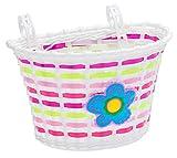 Schwinn Girls Bicycle Basket, Regular Flowers , Pink