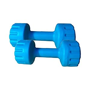 Aurion Set of 2 PVC Dumbbells Weights Fitness Home Gym Exercise 1