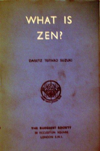 0060802634 - Daisetz Teitaro Suzuki: What is Zen? - Buch