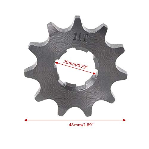 Felix-Box - Car-Styling Off-road Vehicle Motorcycle Front Sprocket Gear Hole Inner Dia 20mm 10T-19T Automobile Covers & Ornamental Mouldings