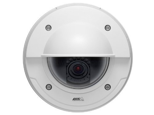 Axis Communications 0484-001 Tamper-Resistant Outdoor Fixed Dome Camera by Axis